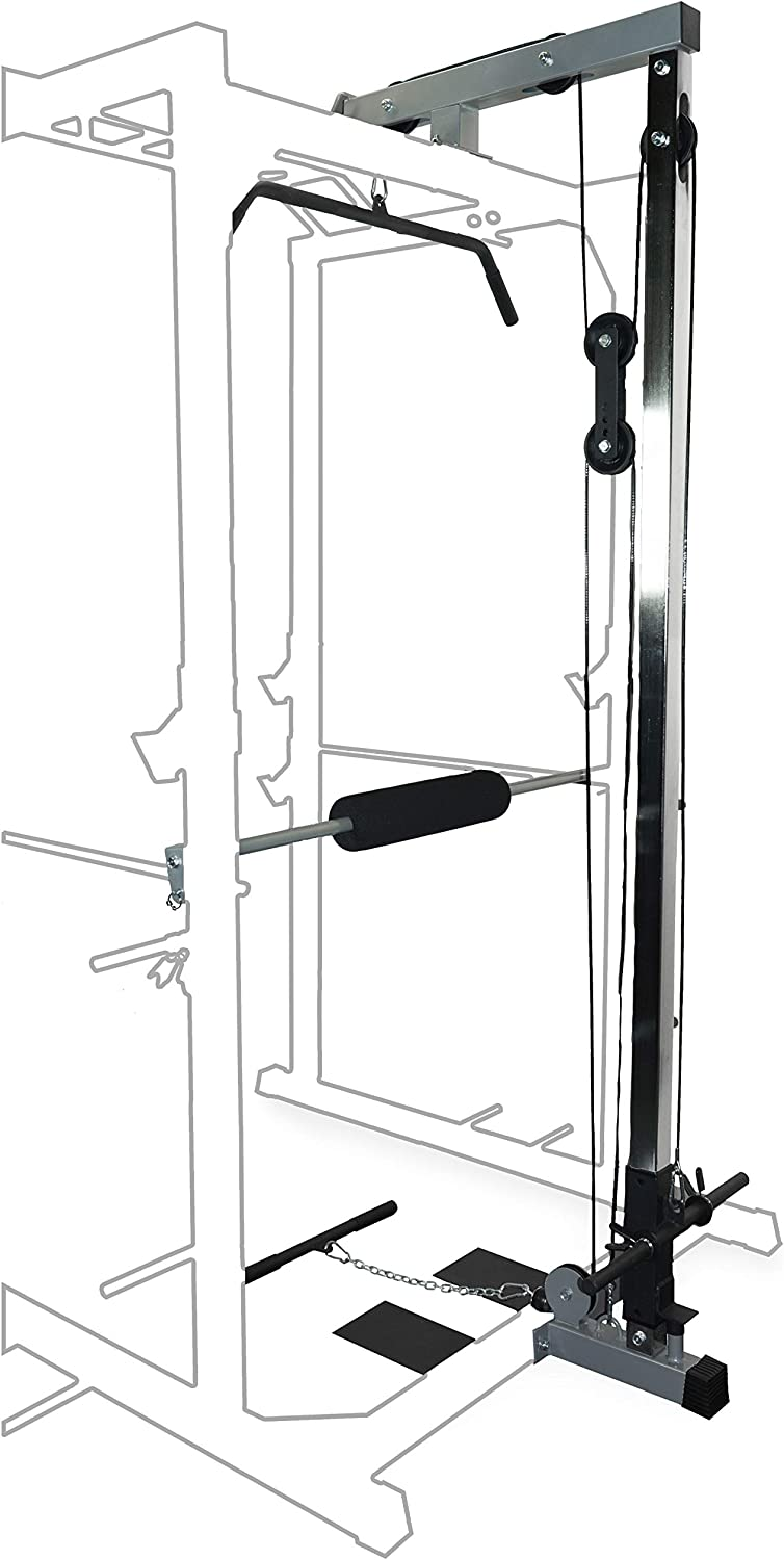 Valor Fitness BD-33L LAT Pull for Heavy Duty BD-33 Power Cage