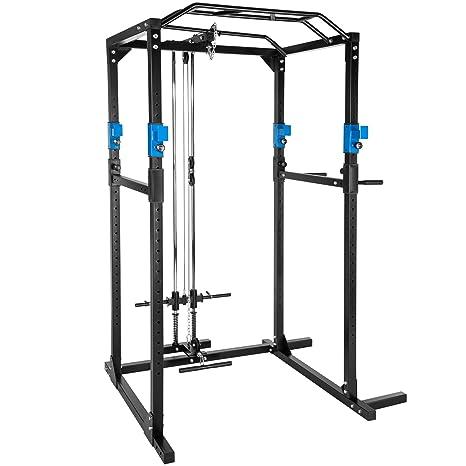 TecTake Multiestación de Fitness para Entrenamiento   2 puntales ...
