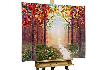 Handgemalte Bilder Auf Leinwand kunstloft acryl gemälde creative walk 100x75cm original