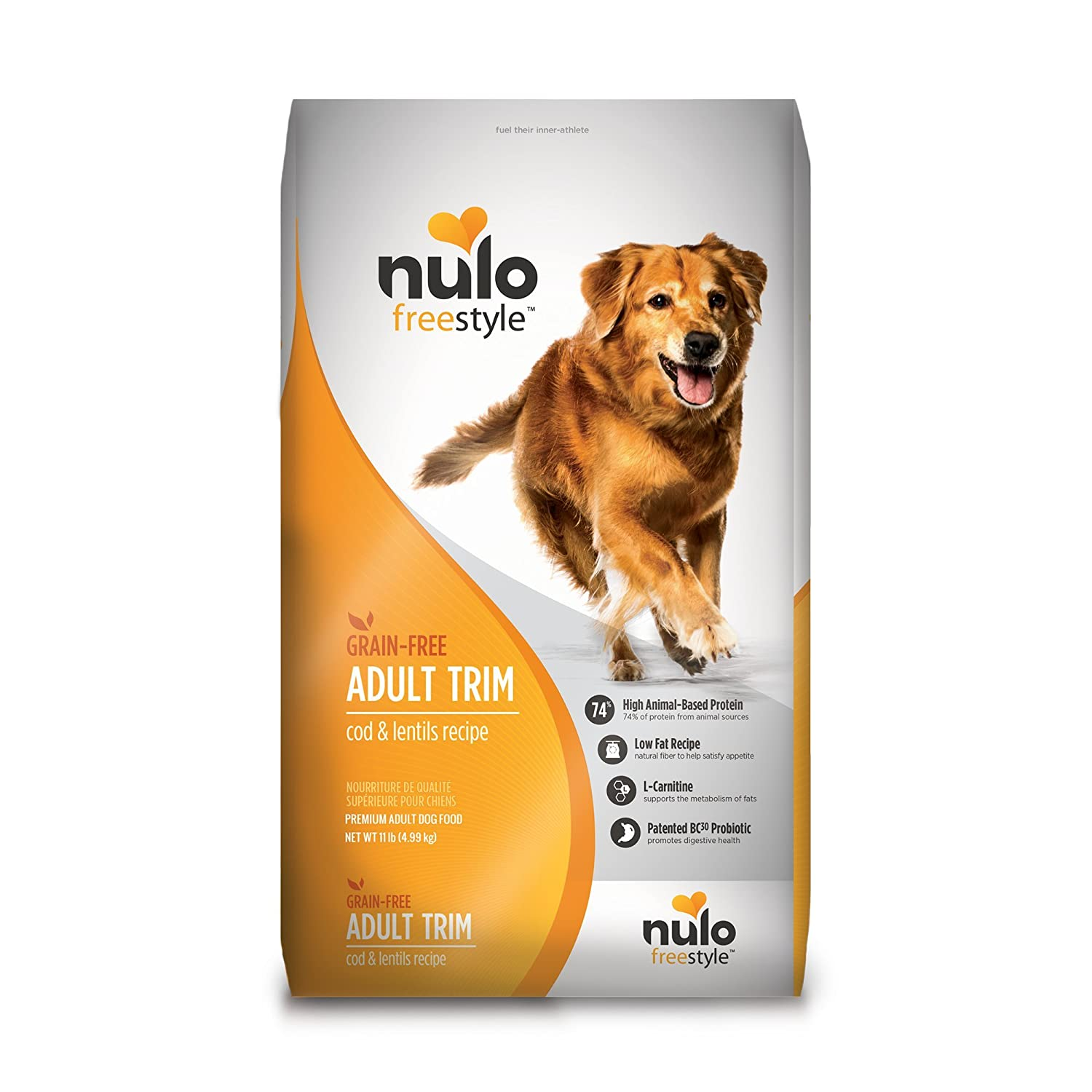 4. Nulo Freestyle Cod & Lentils Recipe Grain-Free Adult Trim Dry Dog Food