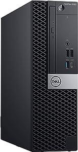 Dell OptiPlex 5060 SFF Desktop Computer with Intel Core i5-8500 3 GHz Hexa-Core, 4GB RAM, 500GB HDD (FFXR5)
