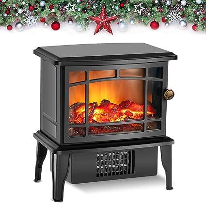 Amazon Com Air Choice Upgrade Electric Fireplace Heater 9 9