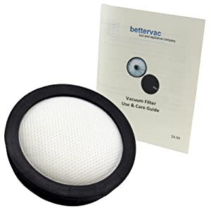 Bissell Powerglide Cordless Vacuum Cleaner Washable Filter #1606359 Bundled With Use & Care Guide