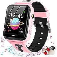 Smooce smartwatch kind Telefoon,kids smartwatch Muziekspeler met Sd-kaart 7 Puzzel Games Call SOS Camera Alarm Recorder…