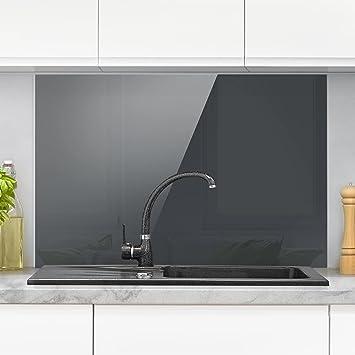 Bilderwelten Spritzschutz Glas - Mondgrau - Quer 2:3 Wandbild ...