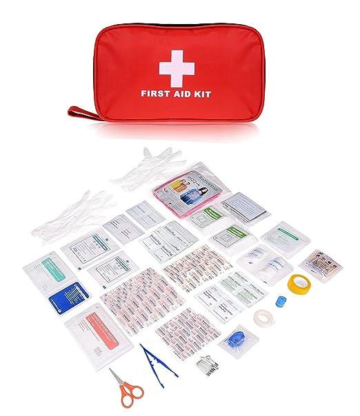 51 opinioni per Plusinno® 180 pezzi Mini Compact Kit di primo soccorso Sacchetto medico di