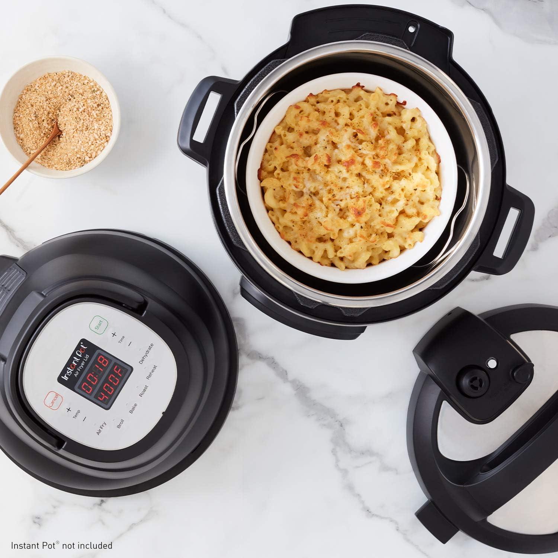 Instant Pot Air Fryer Lid - Cooking Food