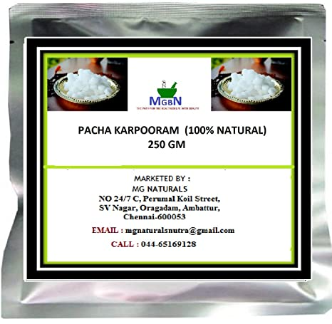 Mgbn The Path For The Healthier Life With Beauty Pacha Karpooram 100 Natural 250 Gm Amazon In Beauty