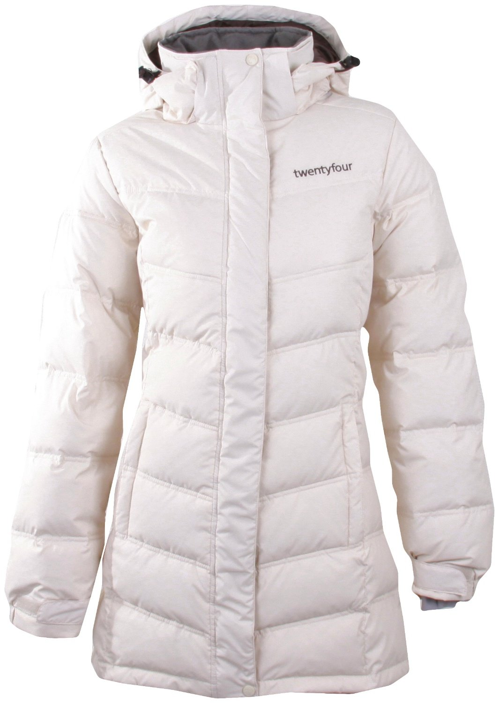 Twentyfour Damen Skijacke Antarktis Daunen Mantel 3/4 r