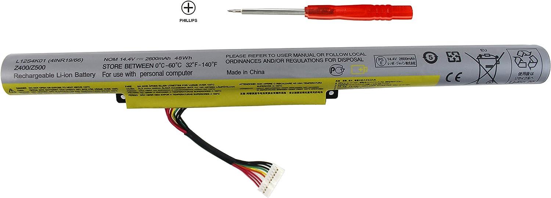 Shareway L12S4K01 4INR19/66 Battery Compatible with Lenovo IdeaPad Z400 Z400A Z400S Z400T Z410 P400 Z500 Z500A Z505 Z510 Z510A P500 L12S4E21 L12L4K01 L12M4K01 4INR19/65-1