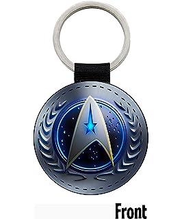 MasTazas Star Trek Federacion Unida De Planetas United Federation of Planets Enterprise Llavero Keyring