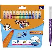 BIC Kids Kid Couleur XL Keçeli Boya Kalemi, 12'li Kutu