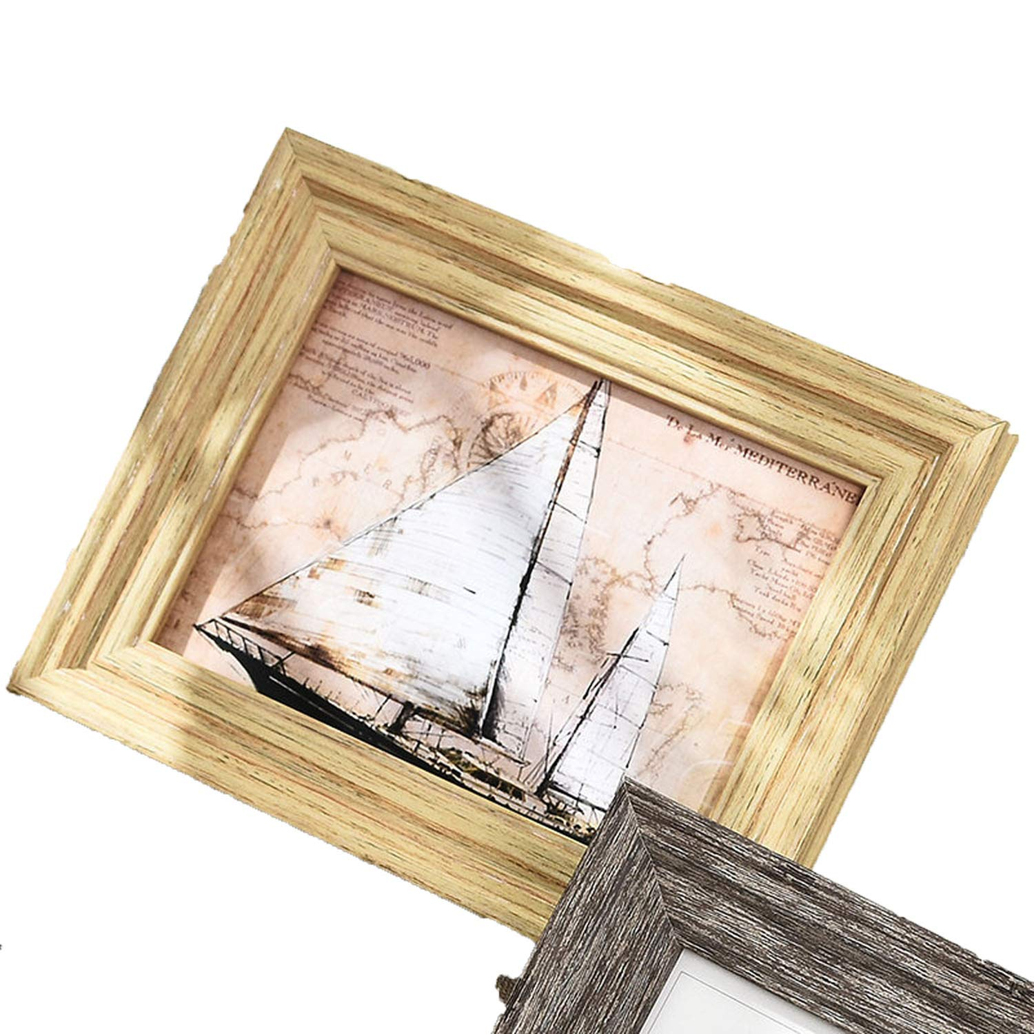 Amazon.com - 1 Pcs Resin Photo Frame for Table Modern 14 Colors Picture Frames Home Decor Delicacy Picture, Dianyayuanmuse, 10 Inch -
