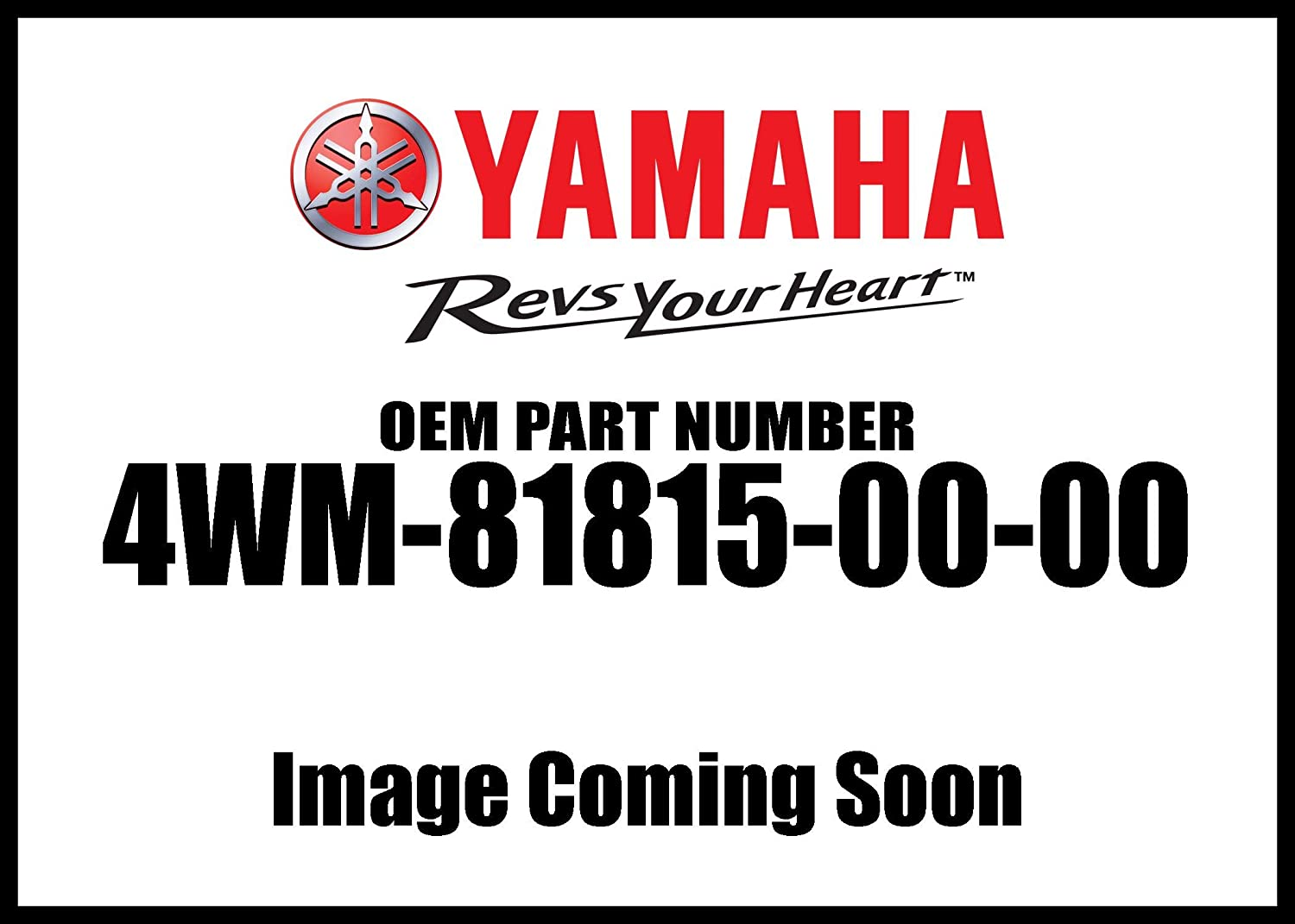 New Yamaha OEM 4WM-81815-00-00 WIRE,SUB LEAD 4WM818150000