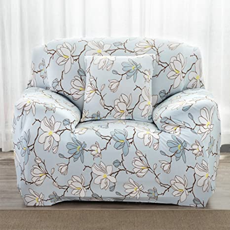 Amazon.com : Stretch Slipcover Big Elastic Printed Sofa ...