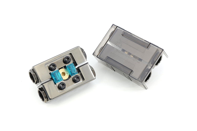 KnuKonceptz KonFUSED 0 Gauge Positive and Negative Battery Terminal Pair … CA_FBT-40PN