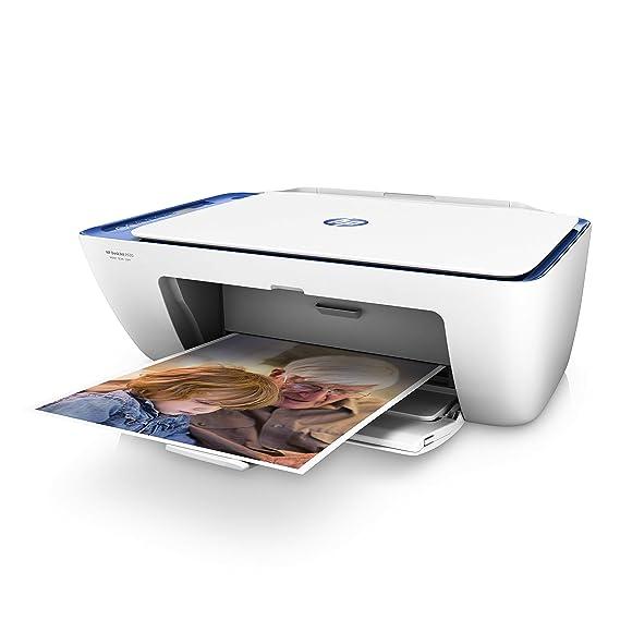 HP Deskjet 2630 - Impresora multifunción de tinta (imprime, escanea y copia), incluye 1 año de Instant Ink con el plan de 50 páginas/mes