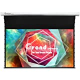 Grand Screens Tab-Tension,92-inch 16:9, 4K Tensioned Electric Motorized Projection Projector screen,6JGZP92H …