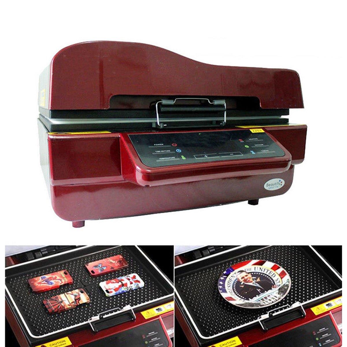 enshey multifuncional 3d sublimación prensa de calor máquina alta ...