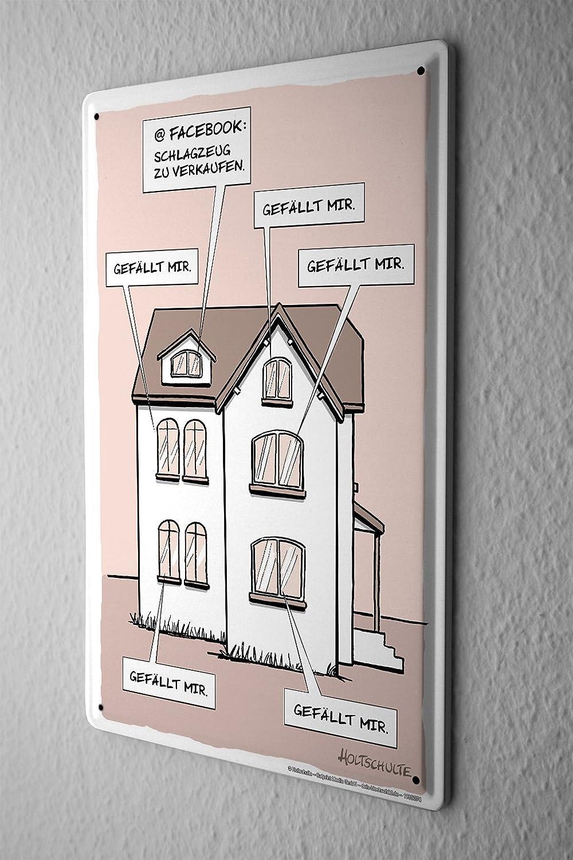 LEotiE SINCE 2004 Cartel de Chapa Cartoon Holtschulte ...