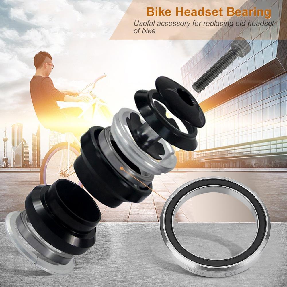 Steel Ring Wheel Bearings Steering Stem Bearings VGEBY Bike Bearings 41mm