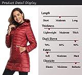 Obosoyo Women's Winter Packable Down Jacket Plus