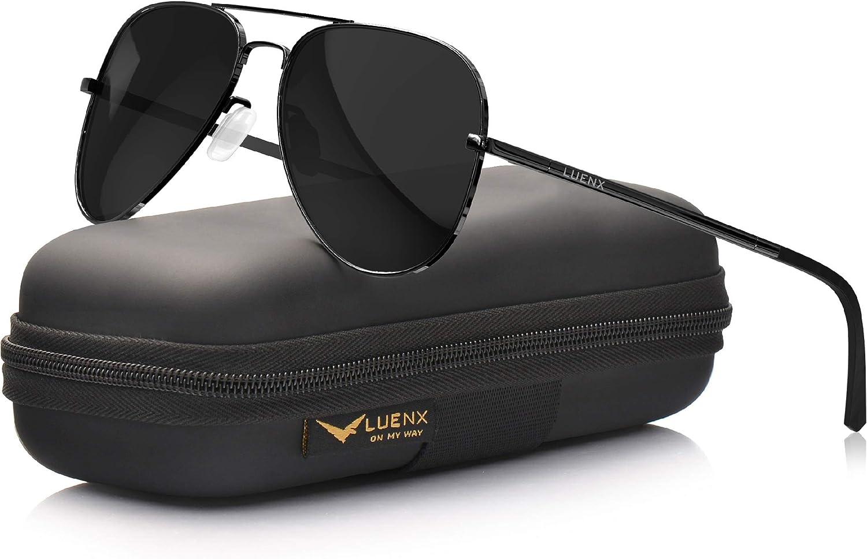 LUENX UV 400 60MM Polarized Sunglasses $15.19 Coupon