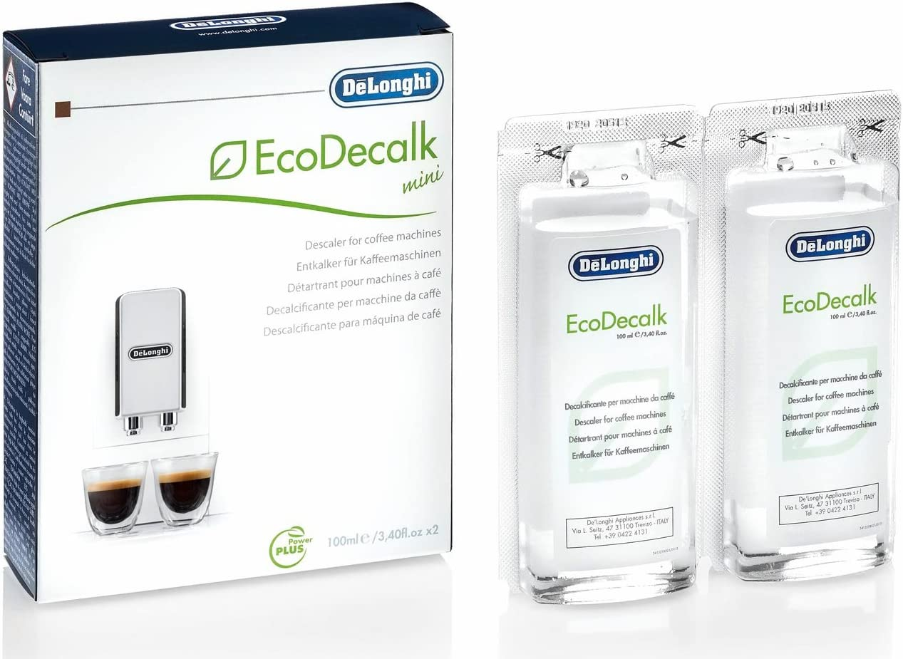 DeLonghi EcoDecalk DLSC200 Descalcificador (6 paquetes de 2 x 100 ...