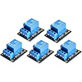 WINGONEER 5PCS KY-019 5V One Channel Relay Module Board Shield For PIC AVR DSP ARM for arduino Relay