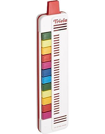 Triola by Seydel - Armónica Triola (12 notas a color, para niños)