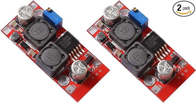10 PCS DC-DC Auto Boost Buck step Up down Converter Module Solar Voltage LM2577
