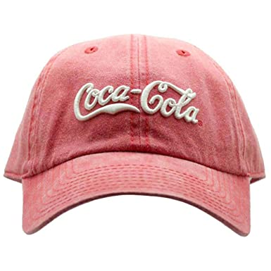 741f583c3d0d8 Amazon.com  American Needle X Coca-Cola Vintage Raglan Hat Red  Clothing