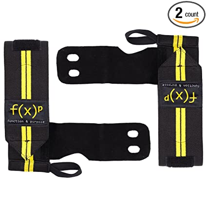 a6df8ba8589 Function and Purpose Wrist Wrap and Hand Grip combination for  weightlifting