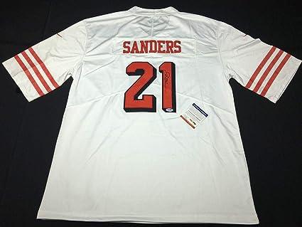 premium selection a83c6 a3812 Signed Deion Sanders Jersey - *Primetime *HOF 379 - PSA/DNA ...