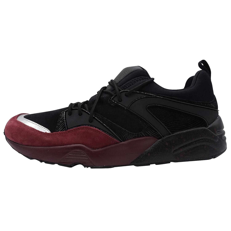 Puma Blaze of Glory OG Halloween Herren Sneaker Schwarz/Bordeaux Uuml;bergrouml;szlig;en  48.5 EU