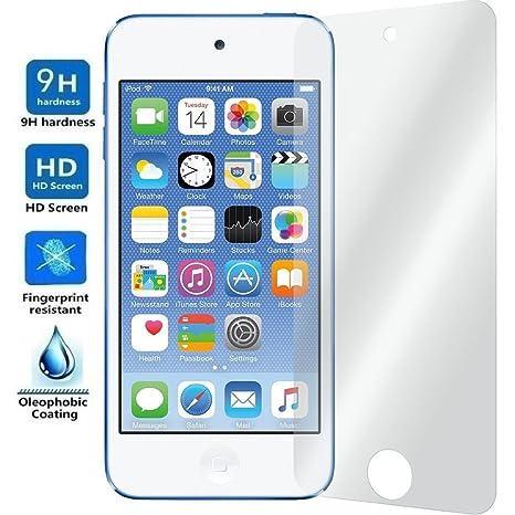 Electrónica Rey Protector de Pantalla para iPod Touch 5 / iPod Touch 6, Cristal Vidrio