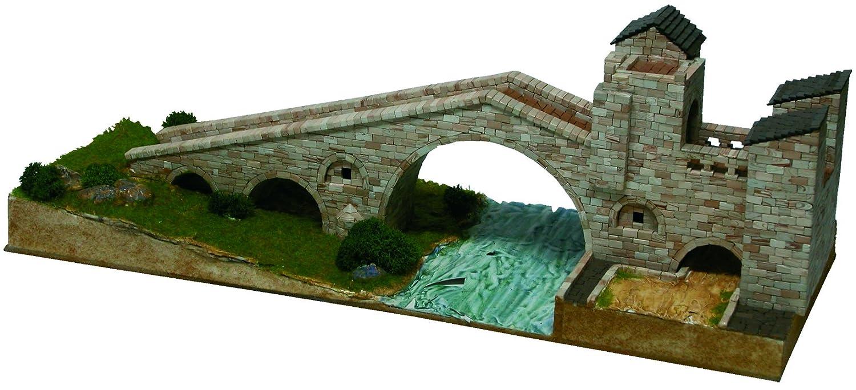 Maqueta de piedra cerámica puente de Camprodón 1/150 ...