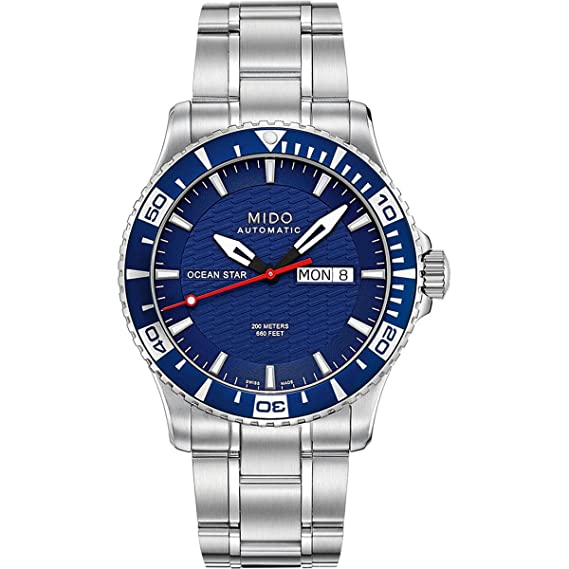 48bdc09dc013 Reloj MIDO Ocean Star  Amazon.com.mx  Relojes