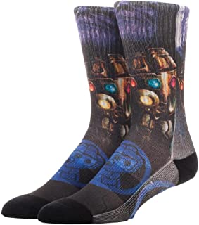 Marvel Avengers: Infinity War Thanos Sublimated Crew Socks