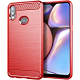 Osophter for Galaxy A10S Case,Samsung A10S Phone Case,Galaxy M01S Case Shock-Absorption Flexible TPU Rubber Full-Body Protect