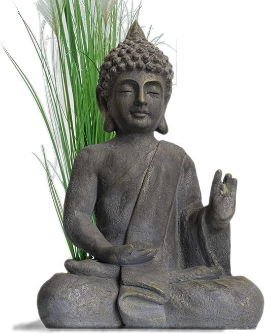 Figura de Buda Para Casa y Jardín - Altura 54cm: Amazon.es: Jardín