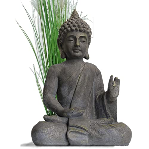 Garden Buddha Statue 54cm Garden Decor