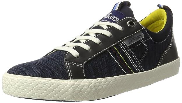 Mens 13623 Low-Top Sneakers, Navy s.Oliver