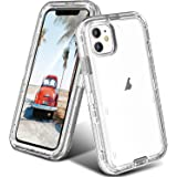 ORIbox iPhone 11 Case for Women & Men, Heavy Duty Shockproof Anti-Fall case, More Suitable for People with Big Hands, Crystal