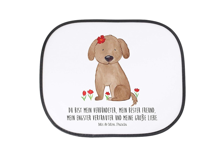 /& Mrs Geschenk Auto Sonnenschutz Hund Hundedame mit Spruch Panda Auto Farbe Wei/ß Mr
