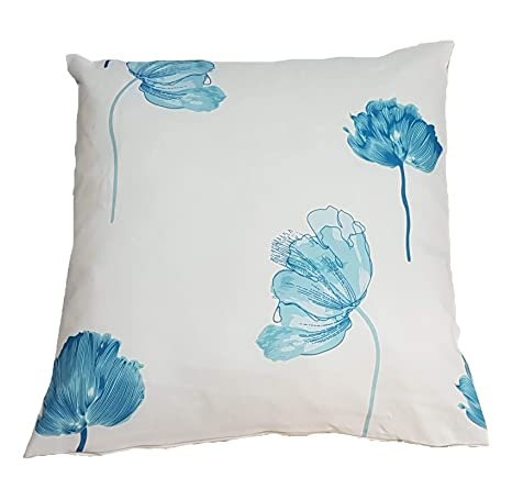 Duffi Home Funda cojín, Azul, 60 x 60 cm