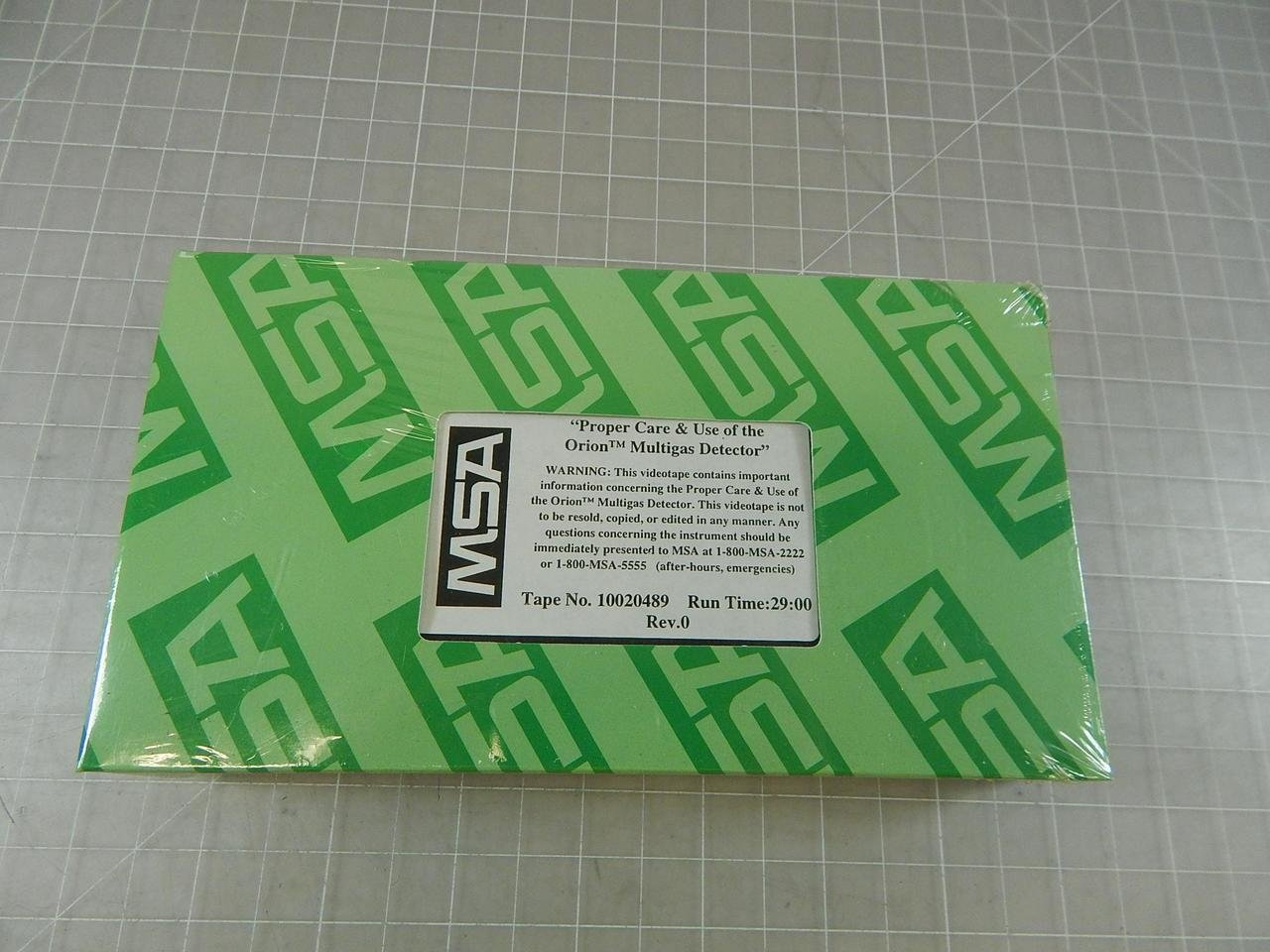 MSA, Orion DMT 01 ATEX E 001 X Multigas Detector w/Accessories T96350: Amazon.com: Industrial & Scientific