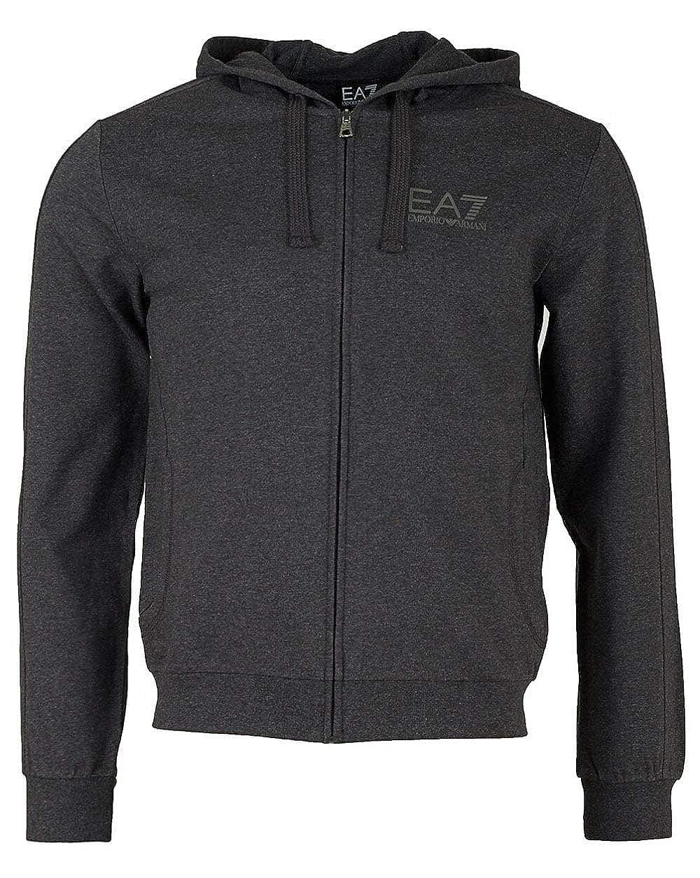 Ea7 Train Core Id Cotton Hooded Sweat
