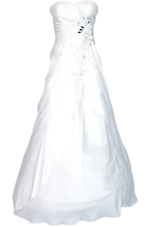JuJu & Christine Langes Damen Taft Abendkleid (A2547) mit Träger vers. Farben Gr. 34 - 42