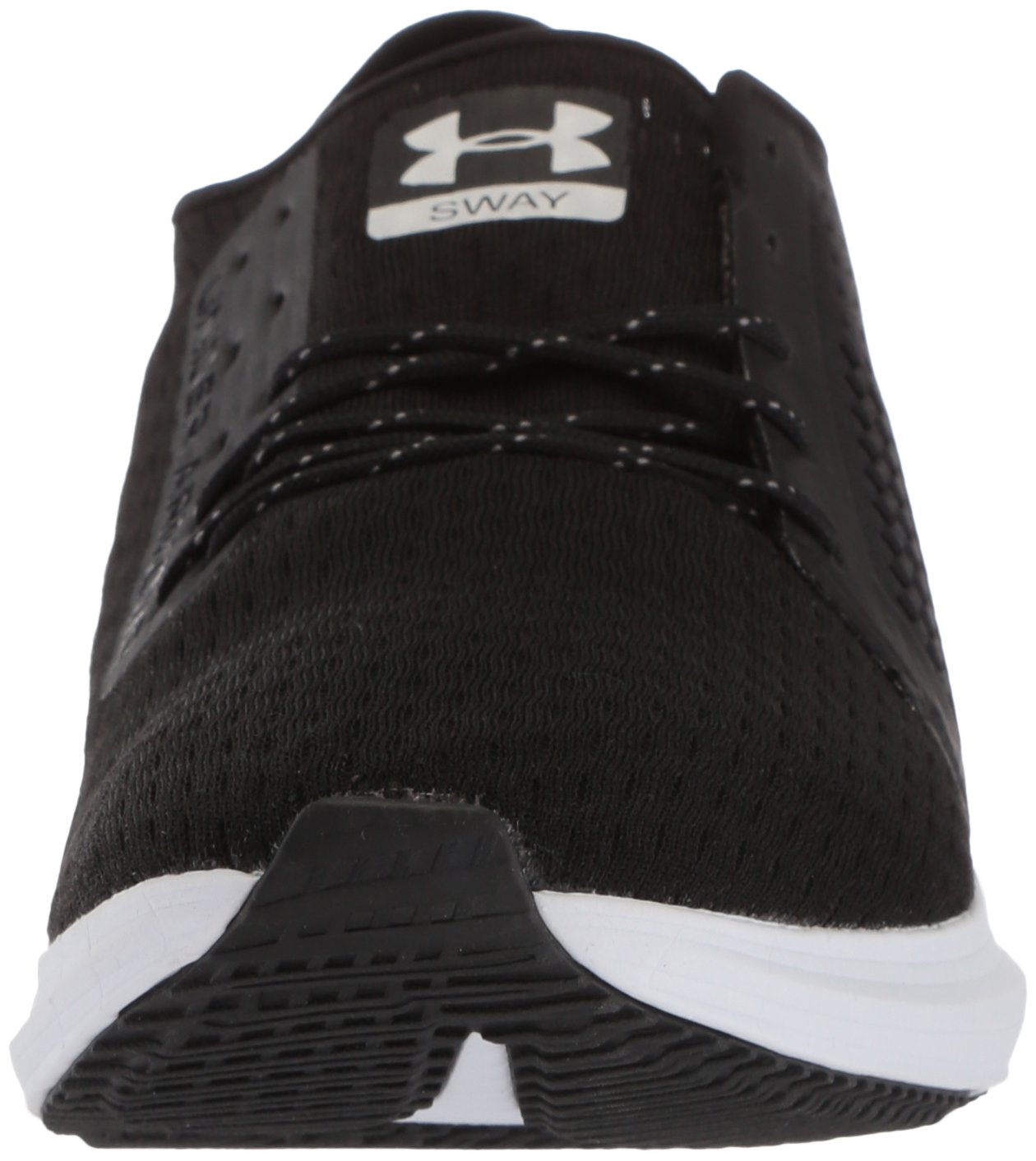 Under Armour Women's Sway Running Shoe B071HN2QFF 9.5 M US|Black (001)/White